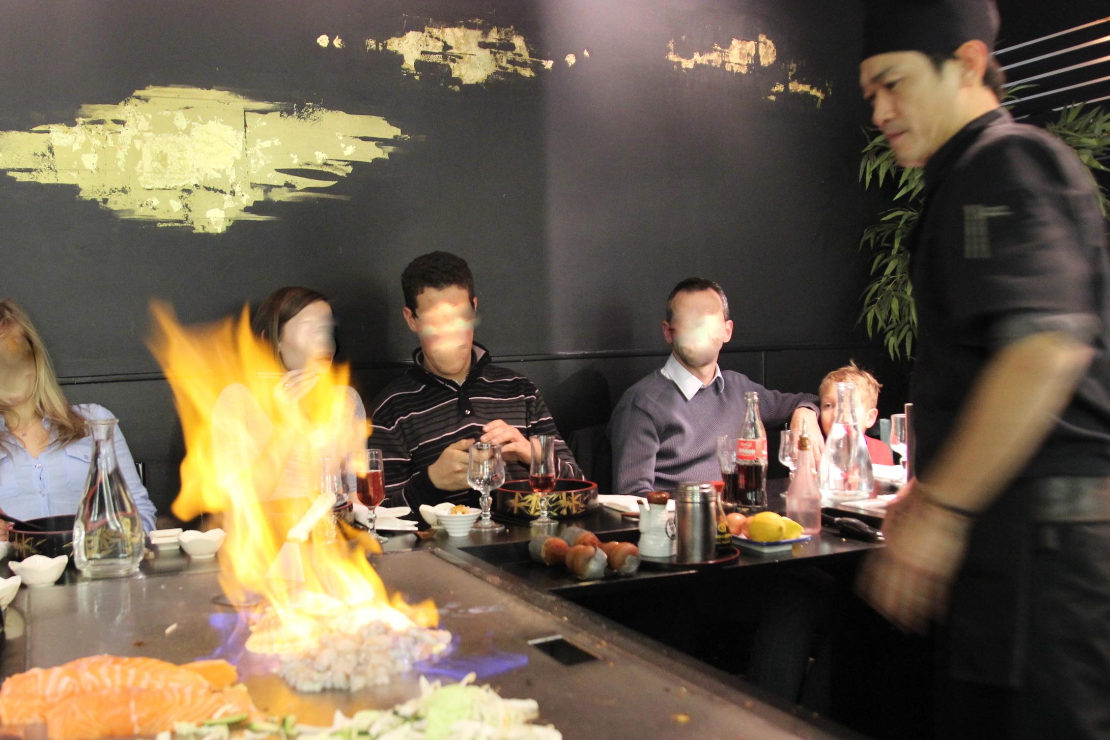 Cuisson Riz Restaurant Japonais