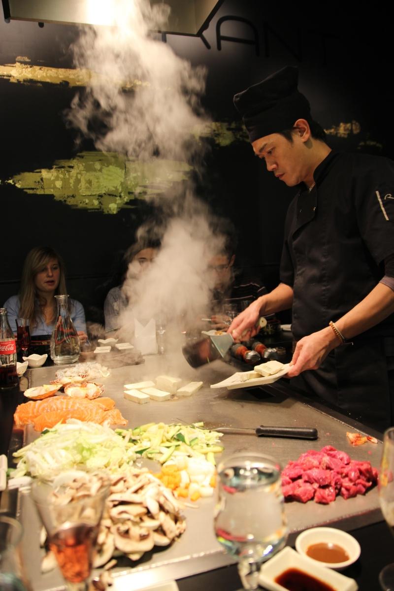 restaurant japonais cuisine devant vous lyon