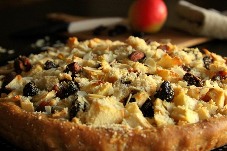 Blog-cuisine-lyon-tarte-briochee-pommes-amandes-abricots-cranberries-recette-gateau-sain-dietetique-2
