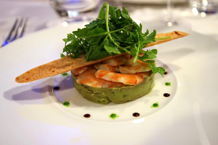 brasserie-lyon-confleunce-blog-restaurant-guy-lassausaie-pignol-Tartare asperge et crevettes