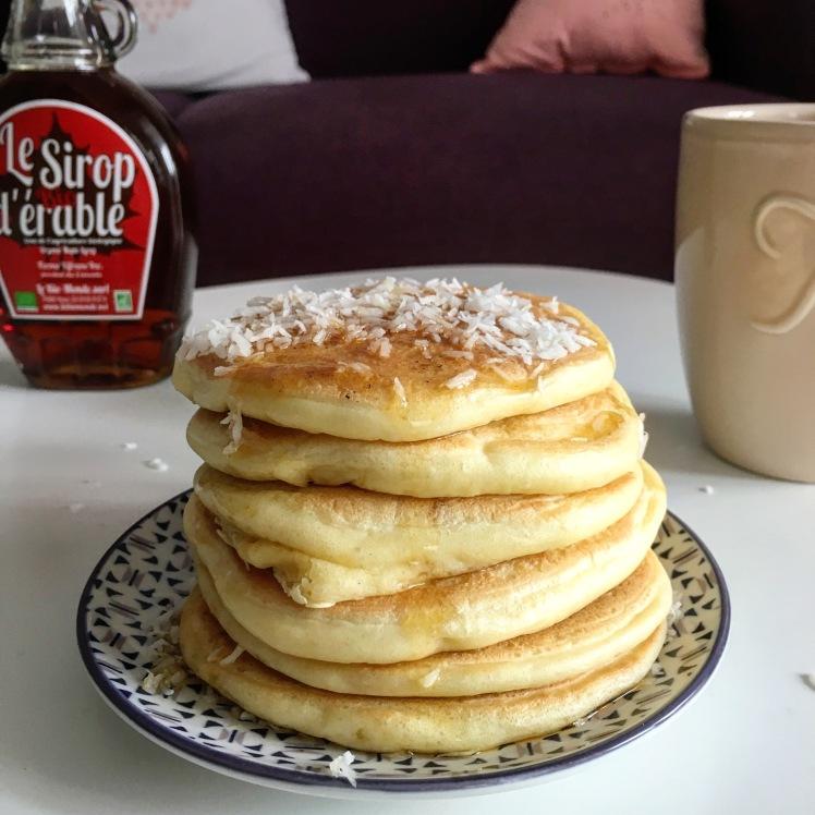 Pancakes_leger_moelleux_sans_beurre_soja_blog_recette_Lyon